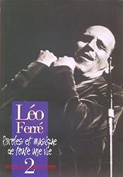Léo Ferré Paroles et Musique de toute une vie - Vol.2 1955-1958