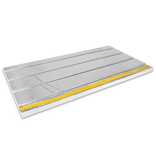 30mm Multidämmplatte für Fußbodenheizung, für Verbundrohr 14mm und 16mm, Inhalt 5m²