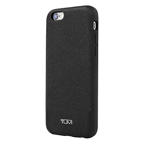 TUMI Coated Canvas Co-Mold Case for iPhone 8 Plus & iPhone 7 Plus - Black Coated Canvas