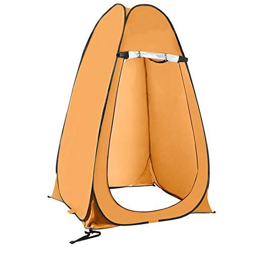 thematys Outdoorzelt Umkleide- und Duschzelt in 4 verschiedenen Designs - perfekt für Camping, Urlaub und Angeln (Style 1)