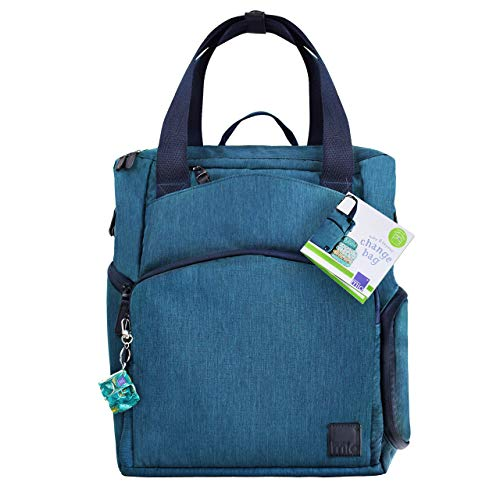 Bambino Mio, Baby & Beyond Diaper Bag, Navy Blue