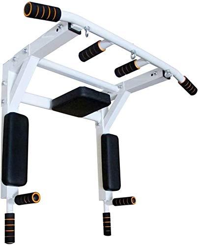 LYYJIAJU Barra de dominadas Ajustable Pull-up Dispositivo de armazón de Pared Simple Cubierta Bar Ejercicio aparatos de Ejercicios de un Solo Polo Gran Ajustable for el hogar gimnasios (Color : B)