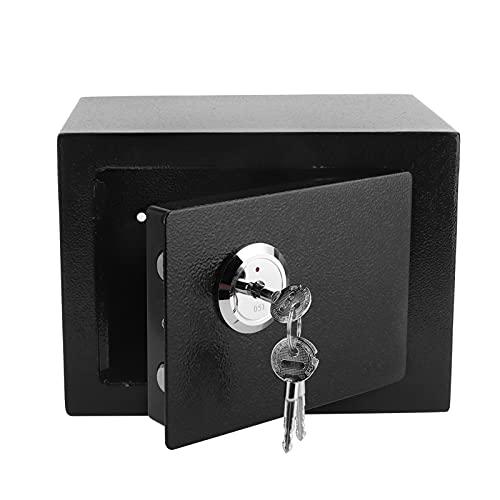 Cajas Fuertes y Cajas de Seguridad para el hogar Caja de Seguridad para el hogar con diseño Retro de Llave, para almacenar artículos valiosos para Todas Las familias