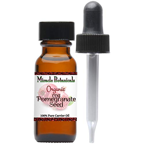Miracle Botanicals Pomegranate Seed Oil Co2 Extract - 100% Pure Punica Granatum - 15ml