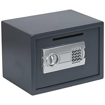 Sealey SECS01DS - Caja fuerte convencional (350 x 250 x 250 mm, incluye ranura para depósitos): Amazon.es: Bricolaje y herramientas