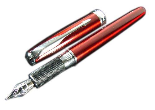 Jinhao 601Pfeil Clip Dark Rot Füllfederhalter 18kgp M Feder Größe