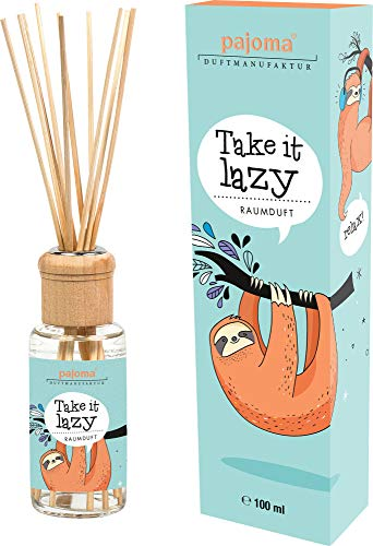 Pajoma kamergeur Take it Lazy Faulier (witte chocolade), per stuk verpakt (1 x 100 ml)