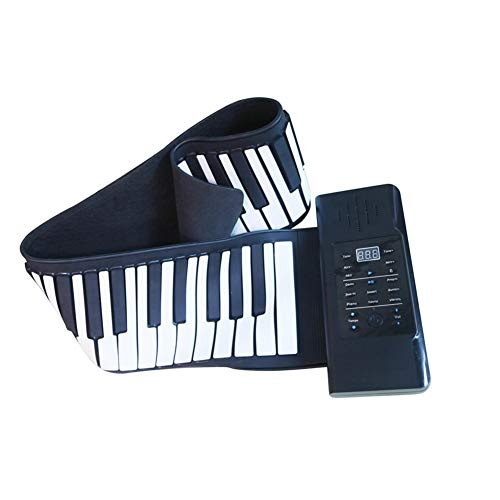 Best Price 88-Key Portable Piano, Natural Silicone, Comes with Lithium Battery, Comes with a Speaker...