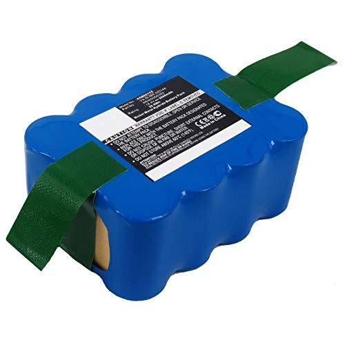 subtel® Batería Repuesto 35601254/RB201, NS3000d03x3 para Hoover RBC009/ RBC001/ RBC003, Samba XR210-14.4V, 2000mAh, NiMH Pila sostitucion