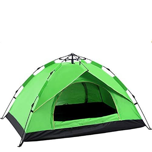 Oofay TAPS Campingzelt im Freien, 3 – 4, automatisch, Regenfeder, schnelles Öffnen und Sonne, Campingzelte – Blau, 02