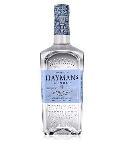 Hayman London Dry Gin 41.2% Vol. ( 1 x 0,7l ) - TRUE ENGLISH GIN -vor über 150 Jahren kreiert - bis heute in liebevoller Handarbeit destilliert.
