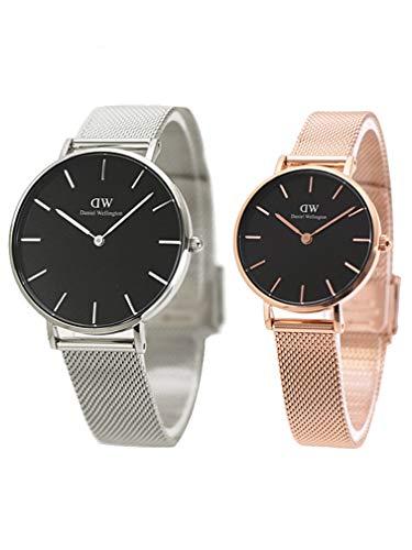 ダニエルウェリントン Daniel Wellington ペアウォッチ(2本セット)腕時計 Petite Melrose 36mm & 28mm メンズ・レディース DW00600304 DW00600217 [並行輸入品]