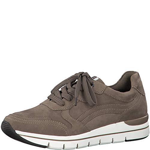 Marco Tozzi Earth Edition 2-2-23771-25 Sneaker, Zapatillas Mujer, Topo, 39 EU