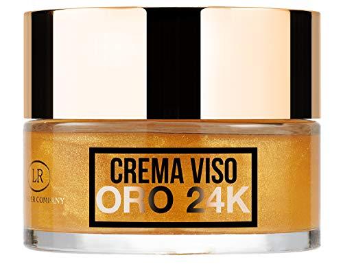 Hollywood Gold Cream, Crema facial con oro de 24 quilates, iluminadora,...