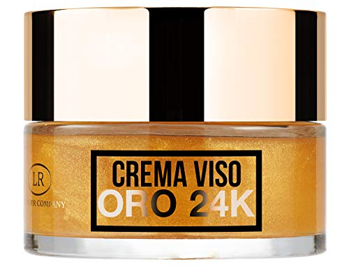Hollywood Gold, crema viso all'oro 24 carati illuminante, idratante e nutriente (1x50ml) - LR Wonder Company