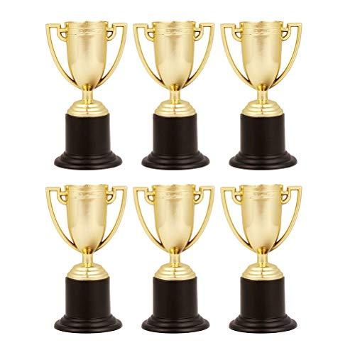 Toyvian 6 Piezas Premio Trofeos Juguetes de Fiesta para Niños 10cm