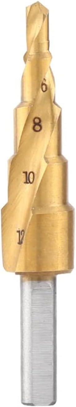 KESHIKUI New MEI Ranking TOP11 HSS Step Drill Ranking TOP5 Triang 4mm-12mm Bit Spiral Flute