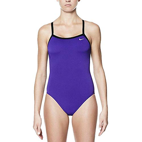 Nike NIKE European Operations Netherlands B.V TFSS0082 - RACERBACK ONE PIECE 536 COURT PURPLE 38