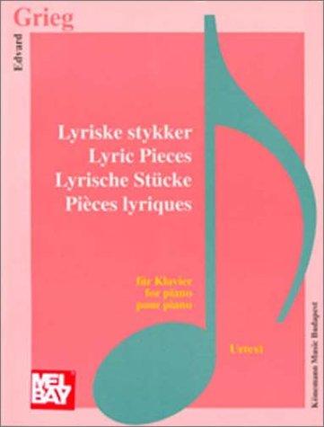 Lyrische Stücke für Klavier. Urtext