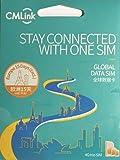 【CM LINK】ヨーロッパ 35ヵ国利用 4G LTE通信 15日 6GB プリペイドSIMカード
