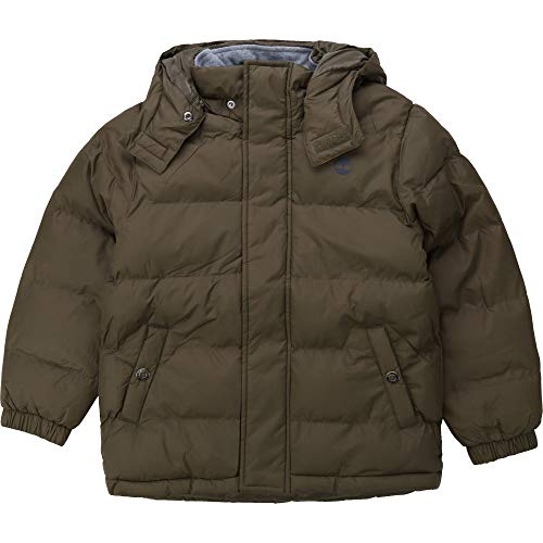 Timberland - Plumífero impermeable con capucha para niño Kakifonce 12 años