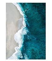 北ヨーロッパのポスター自然風景油絵壁アート現代海景リビングルーム家の装飾とフレームなしで40×60を印刷