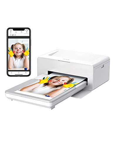 Victure Portable Photo Printer, Instant Photo Printer to Print (4 x 6) inch Photos from Your Phone Conveniently, Come with 40 pieces of photo paper , Compatible with iOS & Android Devices