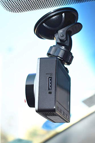 Dash Cam Suction Mount for Transcend DrivePro 200 Car Video Recorder YI dashcam 2.7 inch