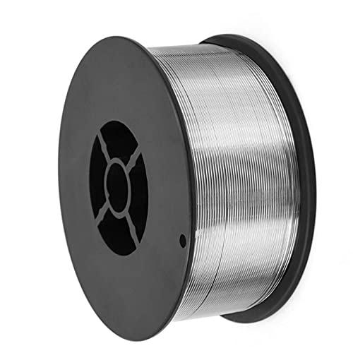 Verakee Ztengyu-Soldadura de Alambre No Hay Cables de Soldadura de Gas Hierro Acero mag Consumible, 0.8mm, Floux, para Soldadura Welding Mig Wire Fácil de Usar (Diameter : 1KG Flux Cored)
