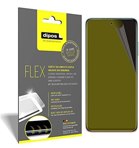 dipos I 2X Protector de Pantalla Compatible con Xiaomi Mi 10i 5G - Cobertura 100% para Pantalla I 3D Full Cover láminas Protectoras