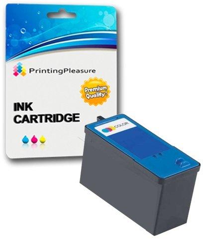 Farbe Druckerpatrone für Dell 725, All-In-One 810 | kompatibel zu Dell Serie 6 (JF333)