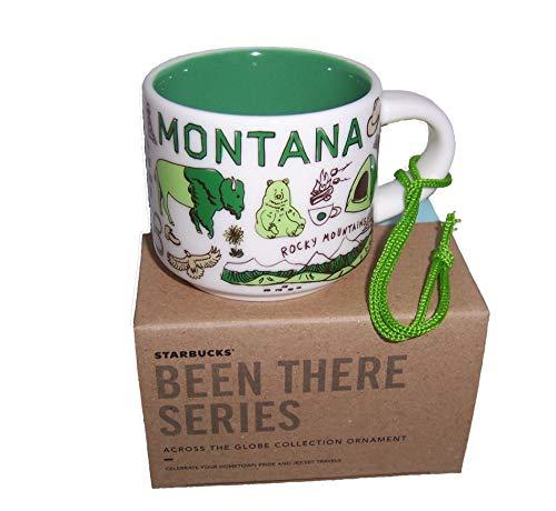 Starbucks Montana Been There Serie, Espressotasse, Cappuccino-Tasse, Ornament, MT Sammlerstück Einzelschuss 57 ml