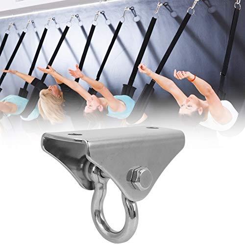Dibiao yoga-hangmat met schijfhaak voor bevestiging aan het plafond van roestvrij staal, duurzaam voor zandzakken voor yoga-hangmat