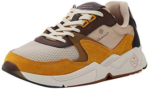 GANT FOOTWEAR PORTLAND, Herren Sneaker, Mehrfarbig (multi brown G444), 42 EU (8 UK)