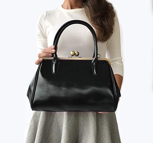 Ledertasche/Leder Handtasche