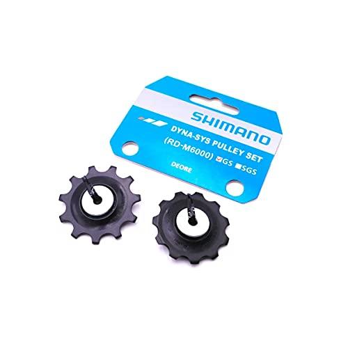 SHIMANO POLEA JGO.GUIA/Tension DEORE M6000 Ciclismo, Adultos Unisex, Multicolor(Multicolor), Talla Única