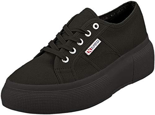Superga Damen 2287-COTW Leichtathletik-Schuh, Nero Full Black 996, 41 EU