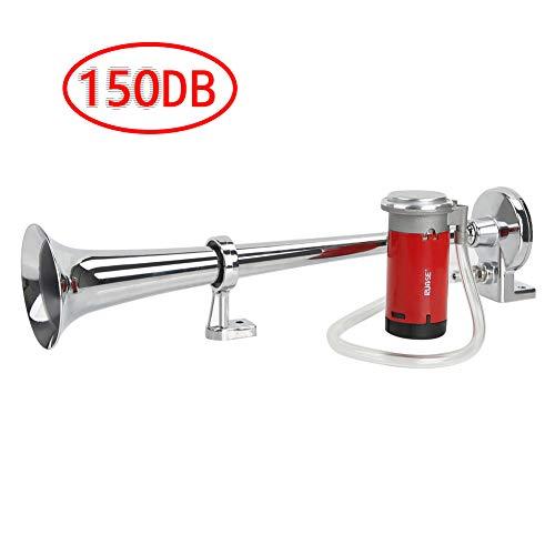 Rupse Hupe Luft Horn , Lufthorn Drucklufthorn auto Horn mit Kompressor 150db 12V für PKW LKW Booten Motorrädern
