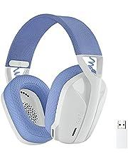Logicool G ロジクール G ゲーミングヘッドセット G435 LIGHTSPEED & Bluetooth ワイヤレス ヘッドセット/軽量 165g / 内蔵マイク / 18時間連続使用 / Dolby Atmos対応/PC PS4 PS5 スマホ 対応 G435WH 国内正規品