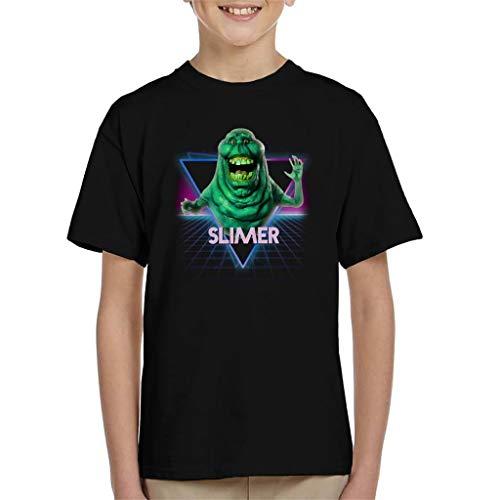 Kids Slimer 80s Landscape T-shirt