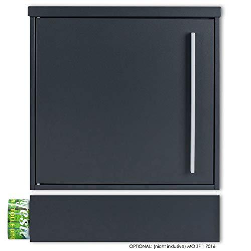 Briefkasten MOCAVI Box 101 anthrazitgrau (RAL 7016)/grau 12 Liter Wandbriefkasten - 8
