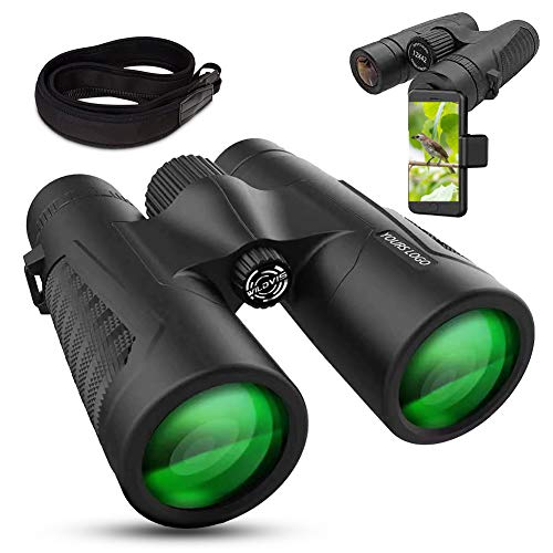 Review Of WildVis 12x42 Binoculars for Adults Compact Binocular Prism BAK4 FMC Lens Waterproof HD Bi...