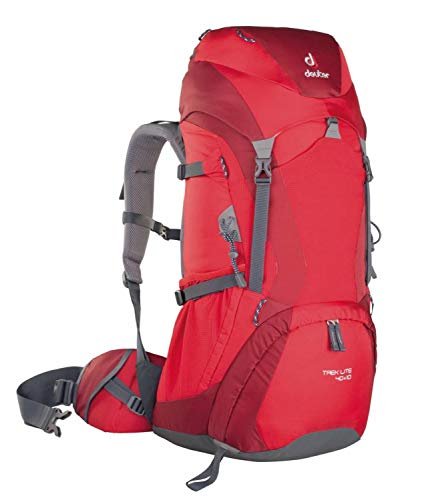 Deuter Trek Lite 40+10, 40 Liter, fire-Cranberry