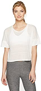 Alo Yoga Women's in-The City Short Sleeve Top