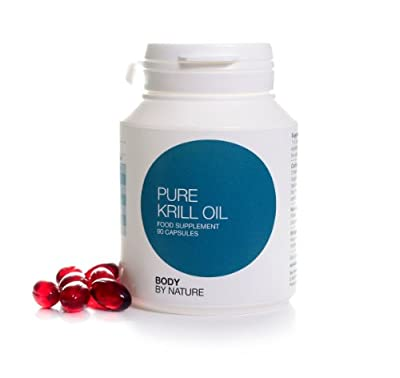 Body by nature Supplements, Krill oil 1000.0mg, Astaxanthin, DHA/EPA, 90 capsules Body By Natures Krill oil is the best Krill oil on the market today. Krill Oil is more efficiently absorbed by the body than Fish Oil, Krill Oil is a rich source of Omega 3