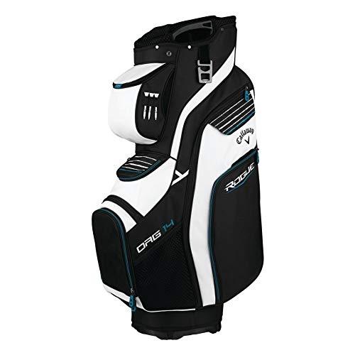 Callaway Golf Cart Bag Rogue Org 14 Cart Bag, Black/White