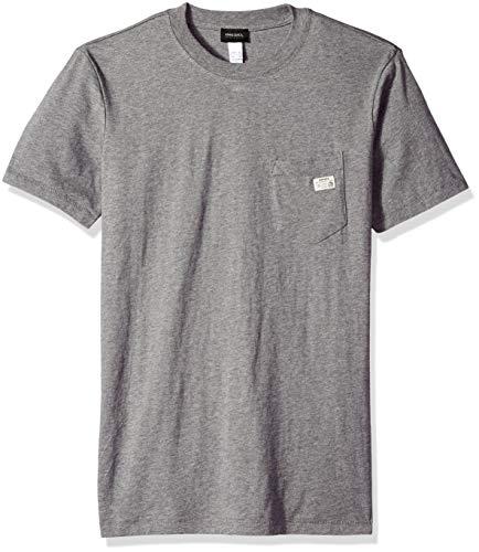 Diesel Herren UMLT-JAKE T-SHIRT Pyjama-Oberteil (Top), grau, XX-Large
