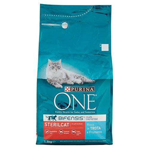 ONE Purina Cat pienso sterilcat Trucha/Trigo 1500gr
