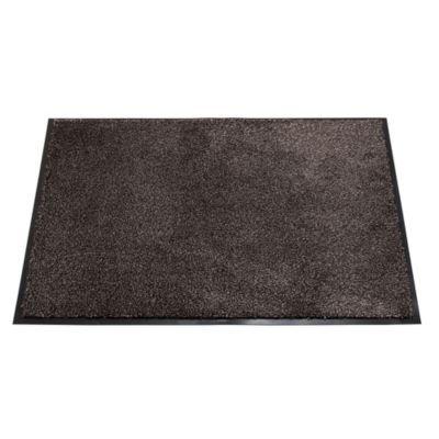 Lakeland Super Absorbent Floor & Door Mat, 80cm x 60cm - Slate Grey