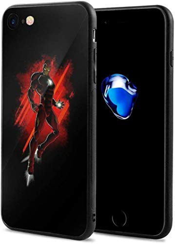 iPhone 7/8 Case Iron Man Full Protective Anti-Scratch Resistant Cover Case for iPhone 7 and iPhone 8 New Year 2021